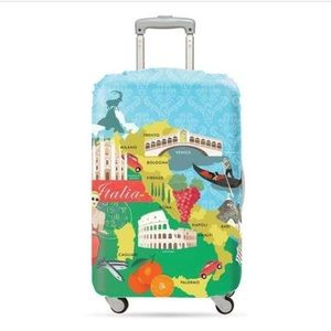 LOQI Luggage Cover for Medium-Size Suitcases Italy